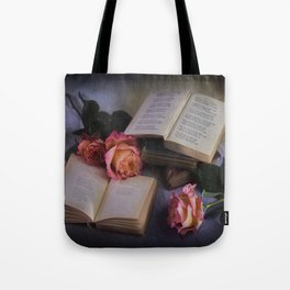 Romantic Reading Tote Bag