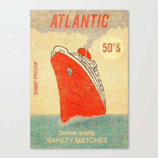 Atlantic Safety Matches  Canvas Print