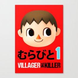 Murabito 1 (Villager the Killer) Canvas Print