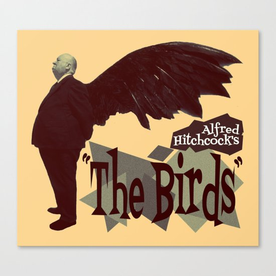 Alfred Hitchcock  |  The Birds Canvas Print
