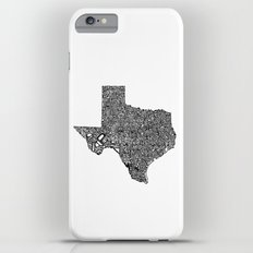 Typographic Texas iPhone 6s Plus Slim Case