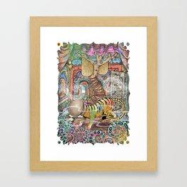The Innocent Tiger Framed Art Print