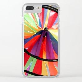 Wind Wheel Clear iPhone Case