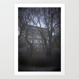 Old Factory Building Art Print
