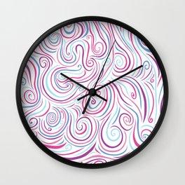 Swirl Explosion Wall Clock