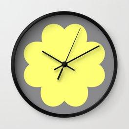 Bubbles Night Wall Clock