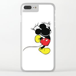 Mickey Mouse No. 1 Clear iPhone Case