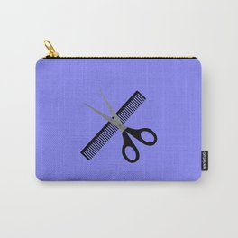 scissors & comb Carry-All Pouch