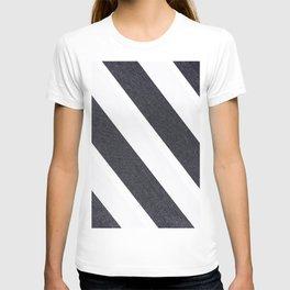 White & Black Stripes T-shirt