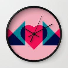 HEART MOM Wall Clock