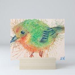 #30/100 Yellow Warbler Mini Art Print