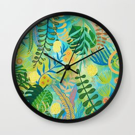 Jungle Juju Wall Clock