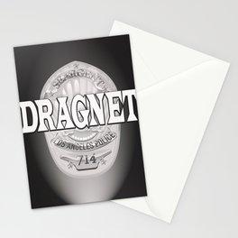 Dragnet - LA Police badge Stationery Cards