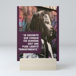Liberté pour tous   Marseille, 2015 Mini Art Print