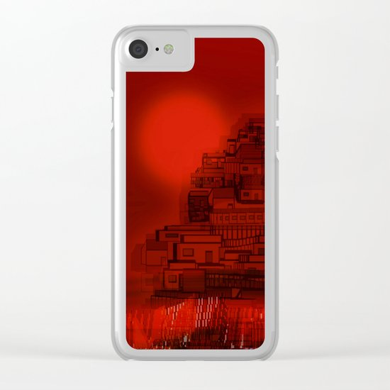 The Emerging Island / San Borondon 2016 Clear iPhone Case