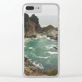Big Sur - Julia Pfeiffer Clear iPhone Case