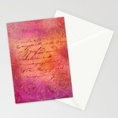 D-SIGN PINK Stationery Cards