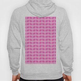 Pink Dinosaur Triceratops Pattern Hoody