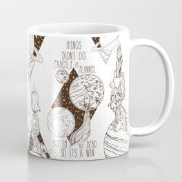 Martian - It's a Win Coffee Mug