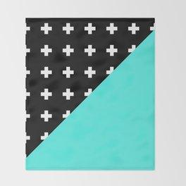 Memphis pattern 78 Throw Blanket