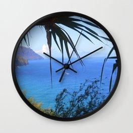 Glimpse of Na Pali Wall Clock