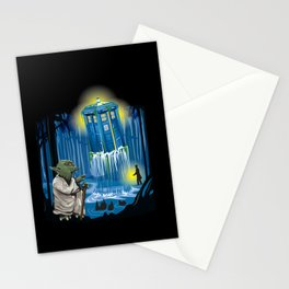 MAy the Tardis be with you! Stationery Cards