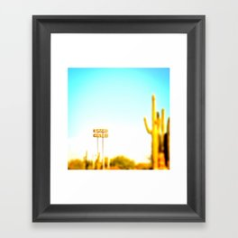 Grand Hotel 2.0 Framed Art Print