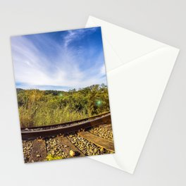 360º Railroad Stationery Cards