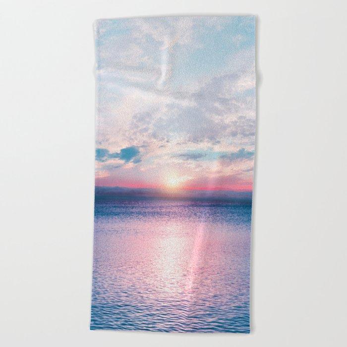 Pastel vibes 26 Beach Towel