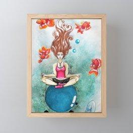 Finding Nirvana Framed Mini Art Print