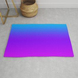 Blue/Pink Gradient Rug