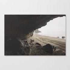 Ocean Cave Canvas Print