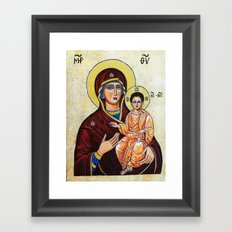 Mary, Mother of Jesus Framed Art Print