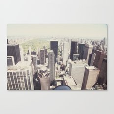 the city::nyc Canvas Print