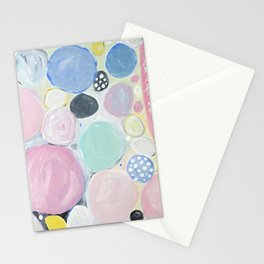 Mixed Lollies Abstract Stationery Cards