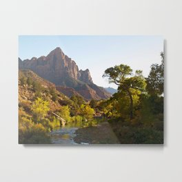 The  Watchman of Zion Metal Print