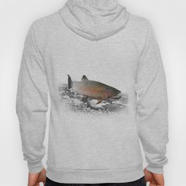 Migrating Steelhead Trout Hoody
