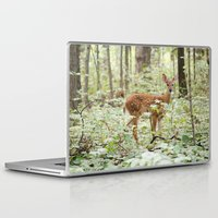 fawn Laptop & iPad Skins featuring Fawn by SarahSeeley