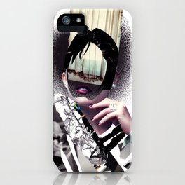 Her inner world iPhone Case