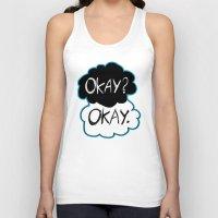 okay Tank Tops featuring Okay? Okay.  by Tangerine-Tane