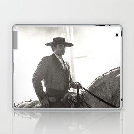 le cavalier dans la lumière Laptop & iPad Skin