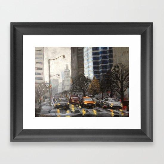 University Ave., Toronto Framed Art Print