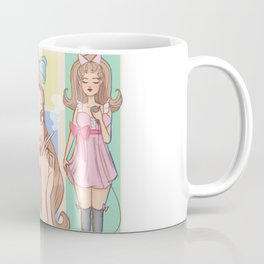 Pretty When I Cry Coffee Mug