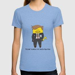 Feline Bureau Of Investigation T-shirt