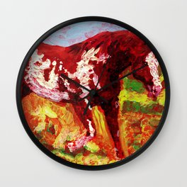 Overo Wall Clock