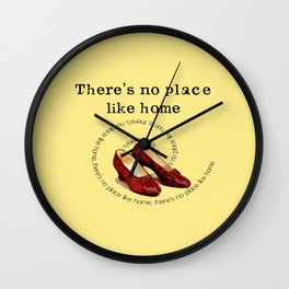 There's no place like home.... Wall Clock