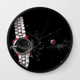 Time in a Space Continuum Wall Clock
