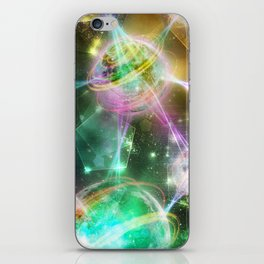 Magic Connection iPhone Skin