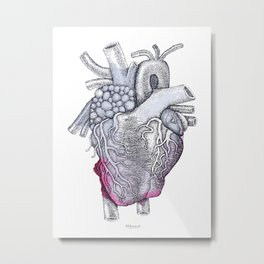 Hearth Metal Print