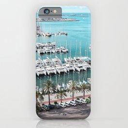 Yacht Promenade iPhone Case